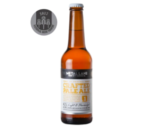 "REVIEW – Crafted Pale Ale<span class=""rating-result after_title mr-filter rating-result-368"" >	<span class=""mr-star-rating"">			    <i class=""fa fa-star mr-star-full""></i>	    	    <i class=""fa fa-star mr-star-full""></i>	    	    <i class=""fa fa-star mr-star-full""></i>	    	    <i class=""fa fa-star-half-o mr-star-half""></i>	    	    <i class=""fa fa-star-o mr-star-empty""></i>	    </span><span class=""star-result"">	3.5/5</span>			<span class=""count"">				(1)			</span>			</span>"
