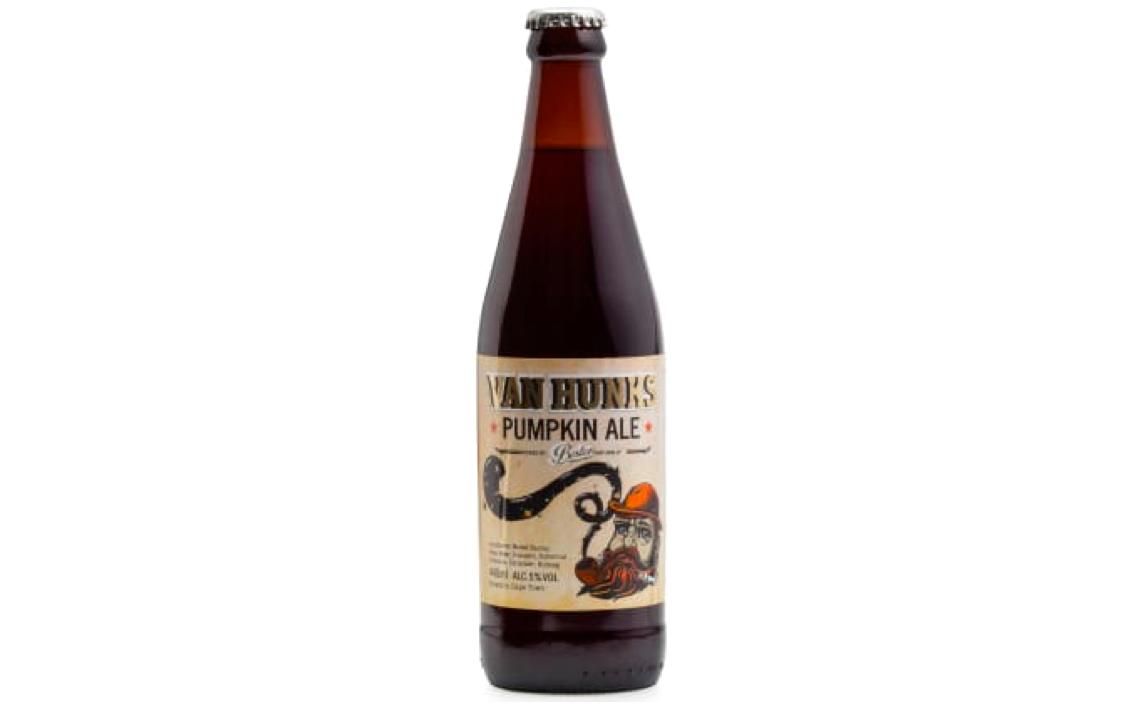 REVIEW – Van Hunks Pumpkin Ale